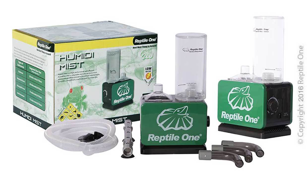 Reptile Humidifier Mist Kit Reptile One