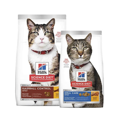 Hill's Science Specialty Diet Dry Cat Food