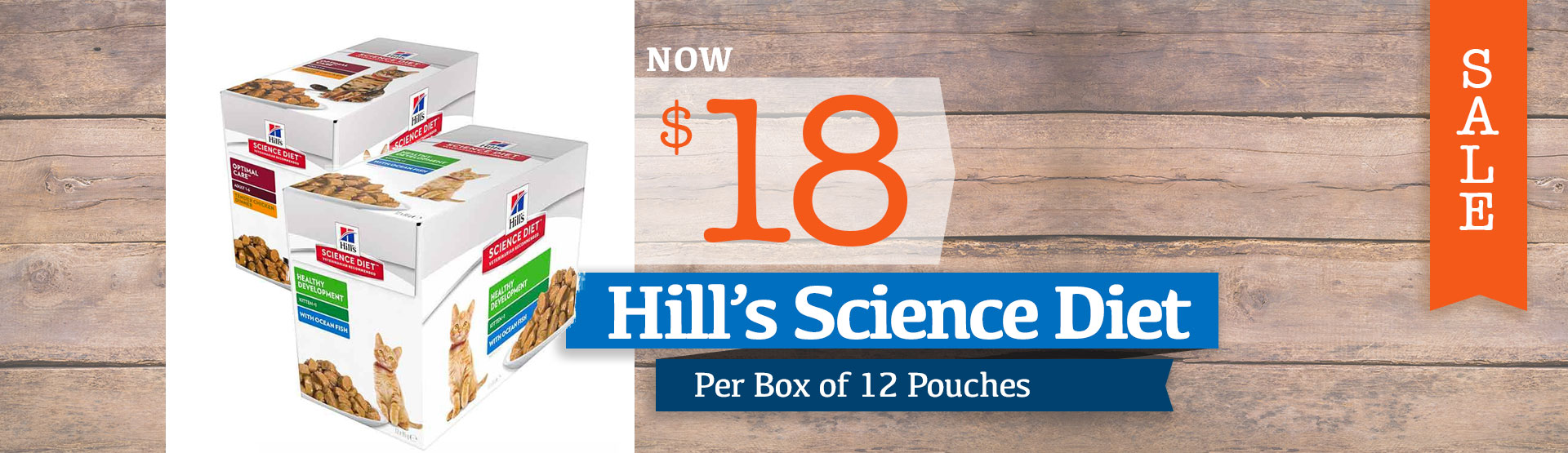 Hills Science Diet Box of 12 Pouches Just $18