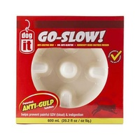 Dogit Go Slow Bowl White 300ml