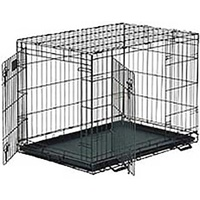 Midwest Contour Double Door Collapsible Crate 42""