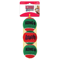 Christmas KONG Squeak Air Ball (3 Pack)