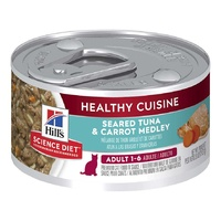 Hills Cat Can Healthy Cuisine Tuna 79g