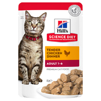 Hills Cat Chicken Pouch 85g