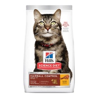 Hills Cat Hairball Control Adult 7+ 2kg