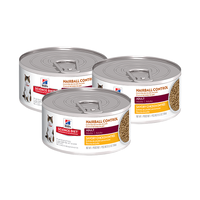 3 HSD Feline Can Hairball Chicken 156g