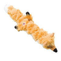 Dog Toy Plush Squeak Fox 59cm/23""