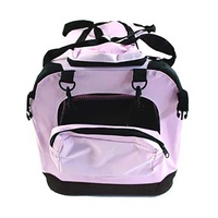 Collapsible Soft Travel Crate Medium Pink