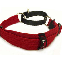 Martingale Collar Adjustable Whippet Red