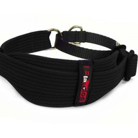 Martingale Collar Adjustable Whippet Black