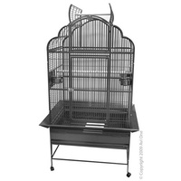 Cage Patio Aviary With Stand Curve/Open Top '932SB'