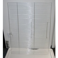"Cage Front 24x18"" Finch -Galvanised"