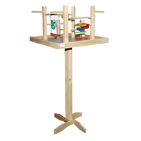 Bird Play Gym LARGE Plain & Stand Waller