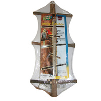 Ladder Natural Wood Sml 27cm Trixie