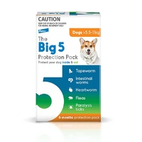 Big 5 Protection Pack Medium Dogs