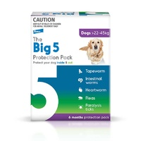 Big 5 Protection Pack Extra Large Dogs