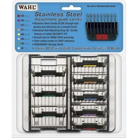 Wahl Attachment  Guide Combs Stainless Steel 8 Pack