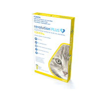 Revolution Plus Small Cat 1.25-2.5kg (3 Pack)
