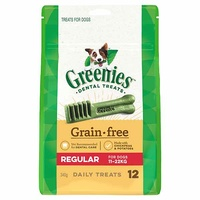 Greenies for Dogs Grain Free Regular 340g