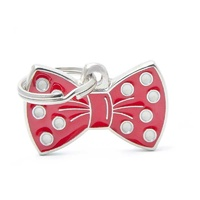 Pet Charm Red Bow