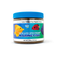 Spectrum Marine Fish Regular Sinking Pellet 1.5mm 300gm