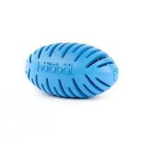 Dog Toy PetProje HoloFootball Blue Sml