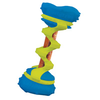 Dog Toy Anima Swizzlers Blue & Green