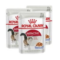 Royal Canin Cat Instinctive Jelly Pouch 85g (3x Pouches)