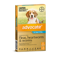 Advocate Dog 4-10kg TEAL 3 Pack