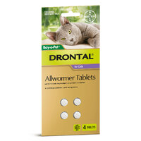 Bayer Drontal Cat 4kg (2 Pack)