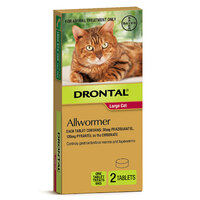 Bayer Drontal Cat 6kg 2 Pack