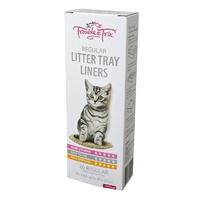 Trouble & Trix Litter Tray Liners Regular (20 Pack)