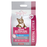 Trouble & Trix Litter Fresh Scent Crystals 15L