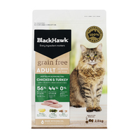 Black Hawk Cat Grain Free Chicken & Turkey 2.5kg