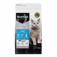 Black Hawk Cat Adult Fish 1.5kg