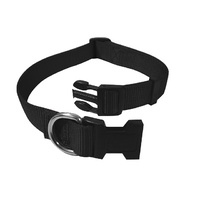 Adjustable Nylon Collar 30-50cm Black