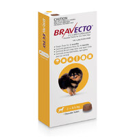 Bravecto Chew Extra Small Dog 2-4.5kg (1 Pack)