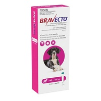 Bravecto Spot-On Extra Large Dogs 40-56kg