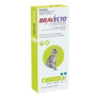 Bravecto Spot-On Small Cats 1.2-2.8kg