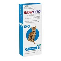 Bravecto Spot-On Medium Cats 2.8-6.2kg