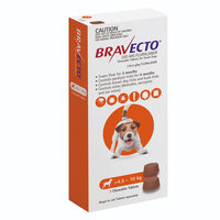 Bravecto Chew Small Dog 4.5-10kg (2 Pack)
