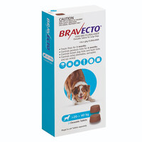 Bravecto Chew Large Dog 20-40kg (2 Pack)