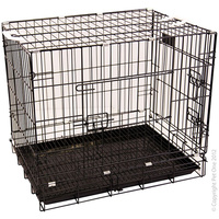 Collapsible Crate D24 Double Door