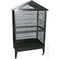 Cage Patio Aviary & Stand Rectangle '904SB' 100.5x72.5x171cmH