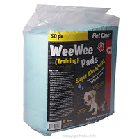 Puppy Training Pads PetOne 50pk