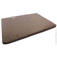 Bed Mattress Stay Dry Suit Plastics Kennel Large Brown