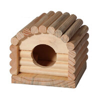 Mouse Playhouse Cosy Cabin Wood