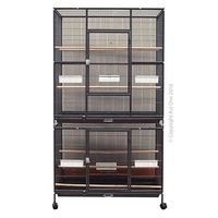 Cage Patio Aviary Stand 608 Black