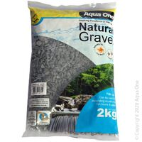 Gravel Pebbles 2kg Phantom Black