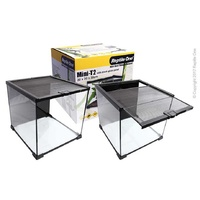 Reptile Enclosure Glass Mini T2 30cm with Lid